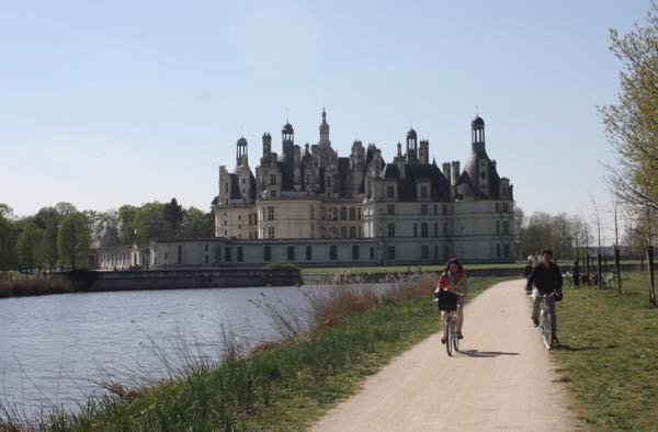 Chateau du Chambord, France. Active boomer