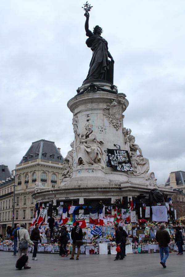 Scared To Travel To France Place de la Republique
