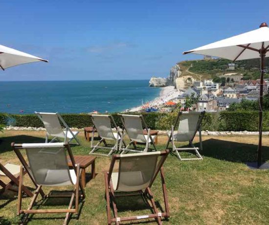 Chairs at Dormy House, Etretat-Retirement Advice (J. Chung)