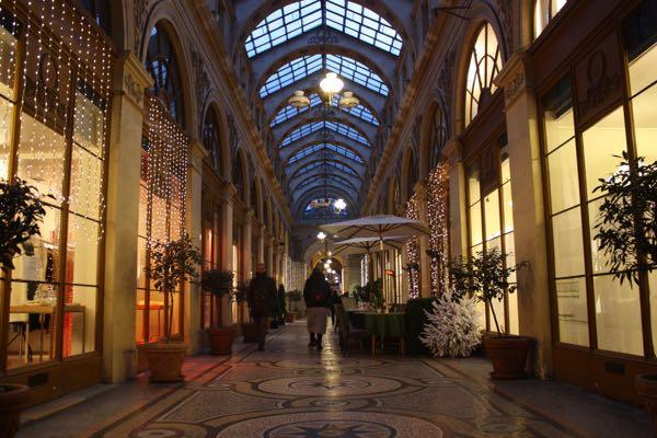 Galerie Vivienne Paris France Covered Passages
