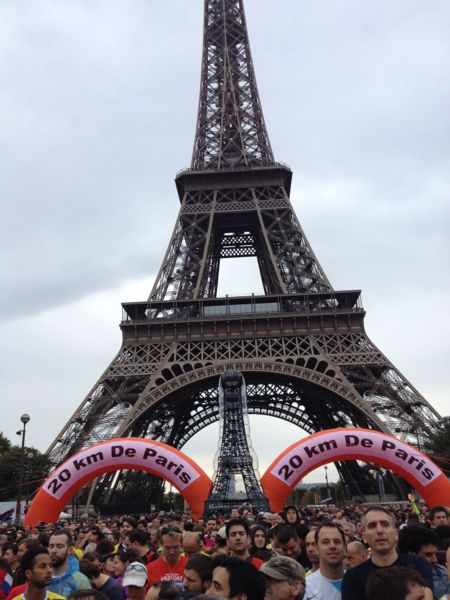 Boomer in 20 km de Paris race