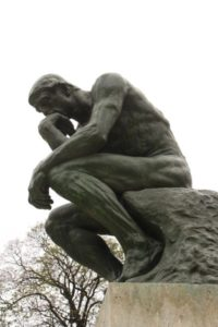 Paris Locations Rodin's The Thinker, Paris France