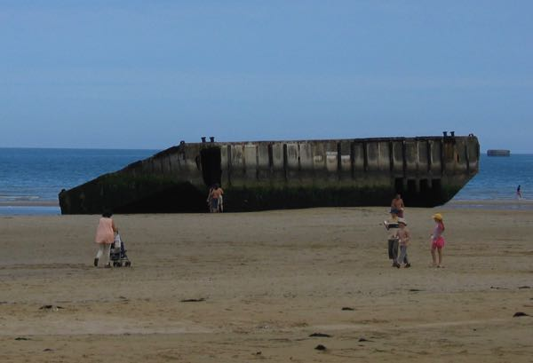 Arromanches-Les-Bains Muilberry D-Day Normandy