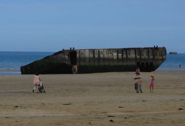 Arromanches-Les-Bains Muilberry D-Day Normandy