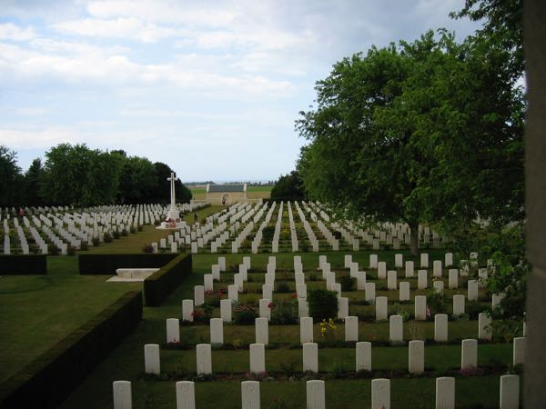Beny-sur-mer, France cemetery D-Day Normandy