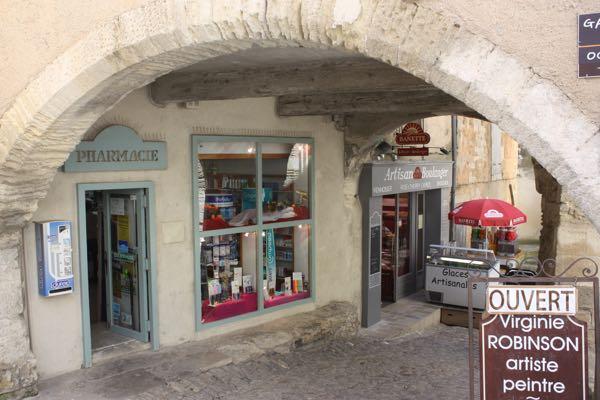 Pharmacy in Gordes, France Taking me to France