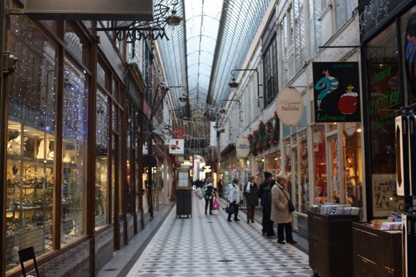 Passage Jouffroy Paris France Covered Passages