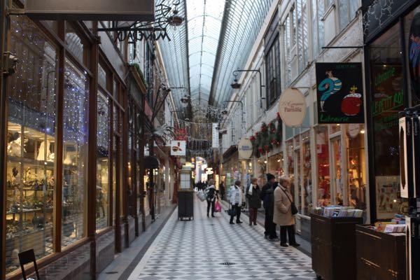 Passage Jouffroy Paris France Covered Passages