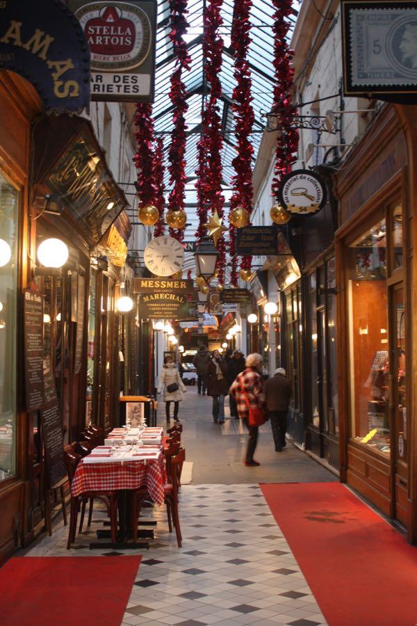 Passage Panoramas Paris France Covered Passages