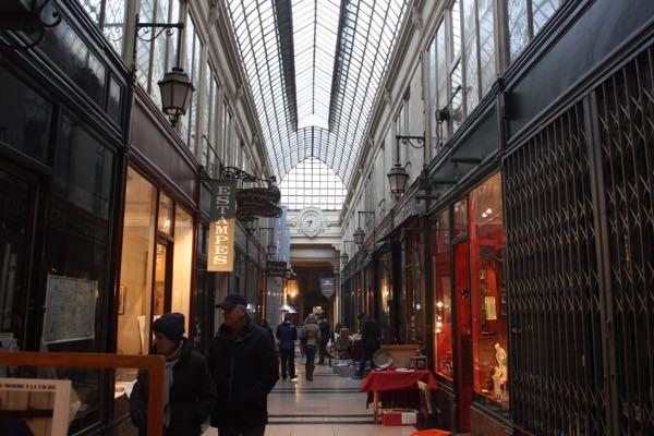 Passage Verdeau Paris France Covered Passages