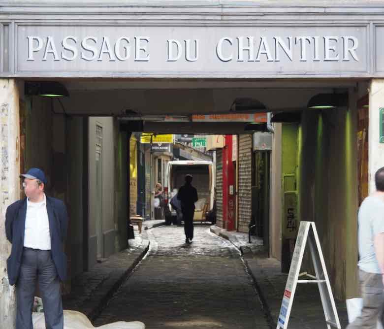 Passage du Chantier-Paris (J. Chung)