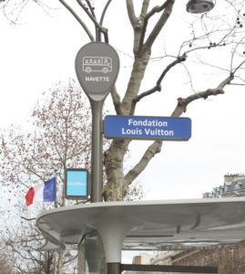 Shuttle to Fondation Louis Vuitton