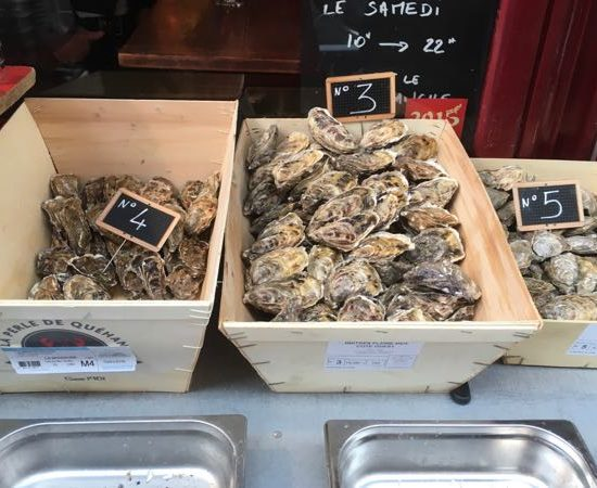 Le Baron Rouge oysters