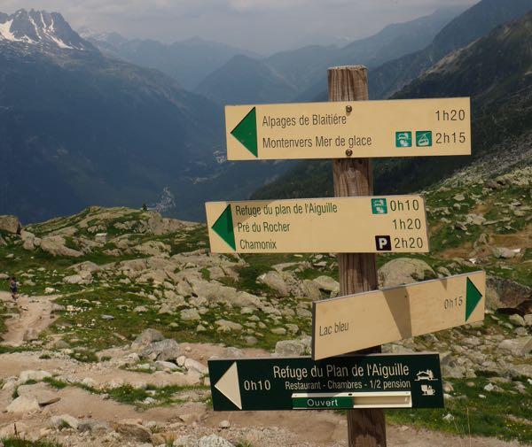 Hikes Plan de l'Aiguille