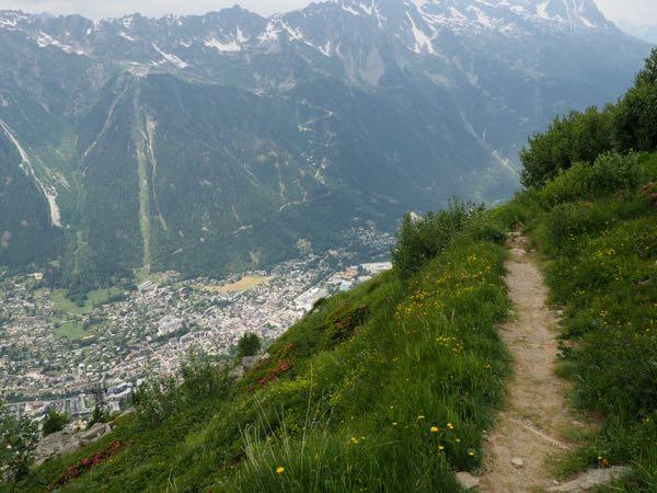 Hike from Plan de l'Aiguille