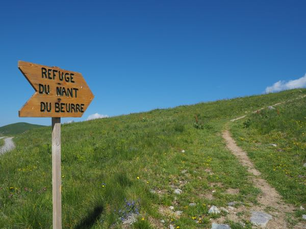 Hikes Refuge du Nant du Beurre