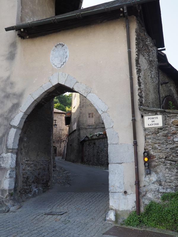 Entrance to Cite Medievale de Conflans