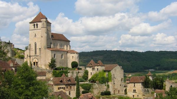 Saint-Cirq-Lapopie--one of the Most Beautiful Villages of France