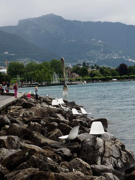 Vevey Switzerland Boardwalk