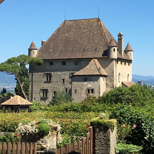 Castle in Yvoire, France