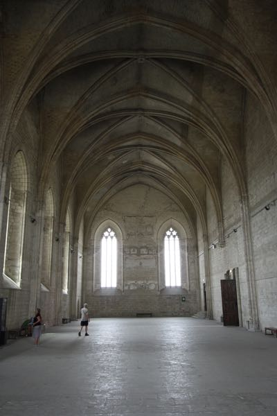 Grand Clementine Chapel in the Palace des Papes, Avignon France