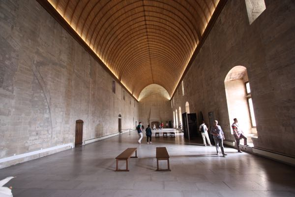 The Great Tinel Room in the Palace des Papes, Avignon