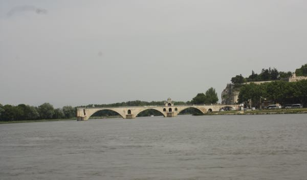 Pont St. Benezet in Avignon, France