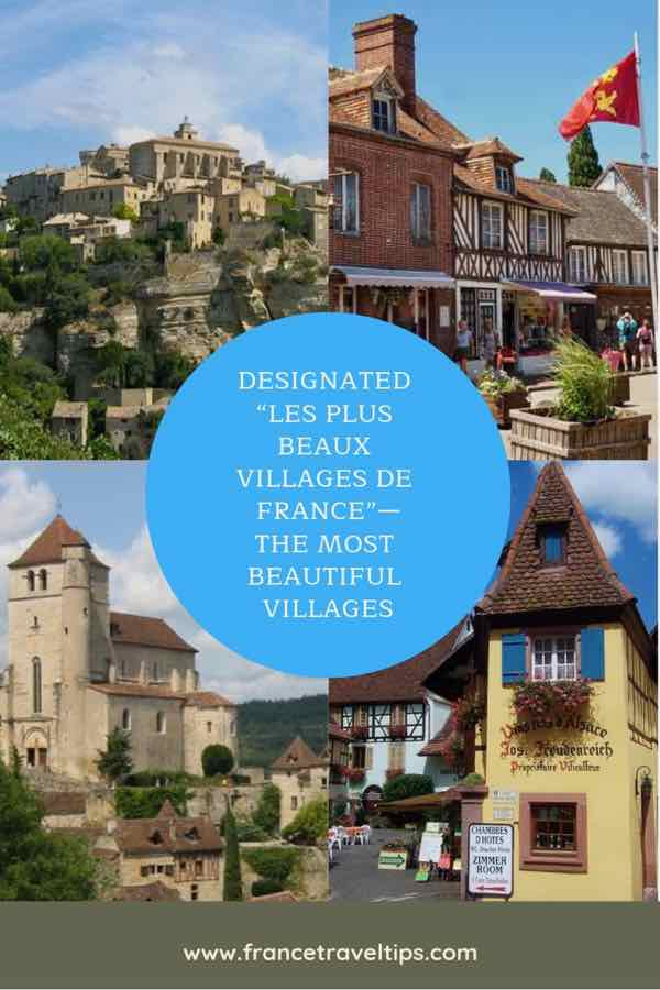 Designated Les Plus Beaux Villages de France