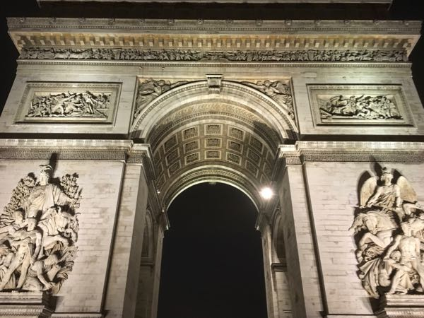 Advice: visit the Arc de Triomphe, Paris France