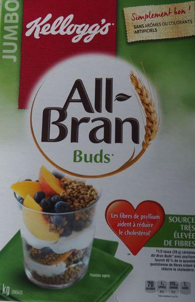 Stomach problems?: eat Bran Buds