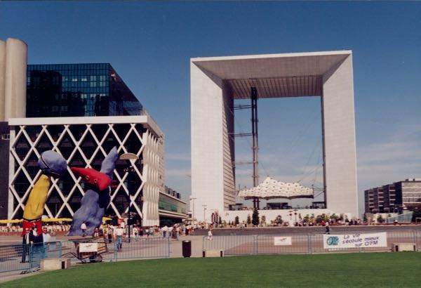 Arches: Grande Arche, Paris France