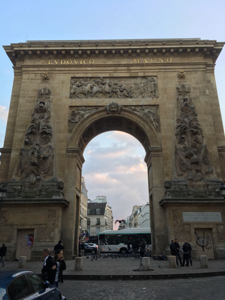 Arches: Porte Saint-Denis; Photo by Stefanie Talley of FreeInParis.com