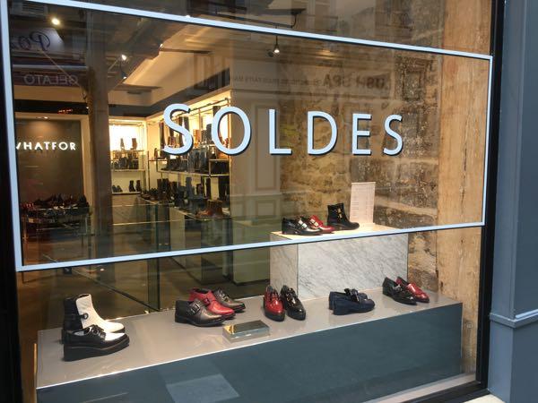 Les Soldes in France