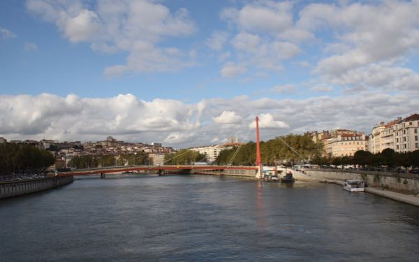 Boat tours in Lyon, France