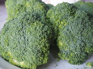 stomach problem: broccoli
