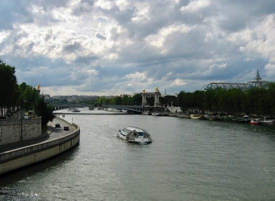 Cruising on the River Seine in Paris