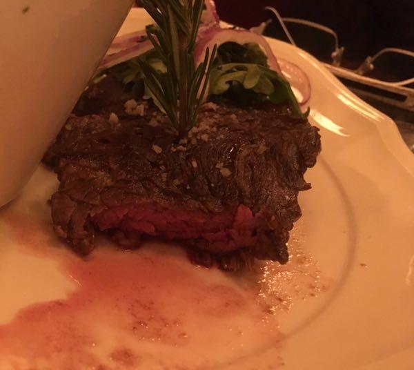 Steak à point