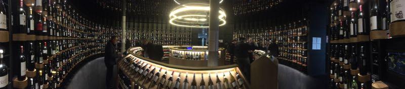 Wine Cellar at La Cite du Vin