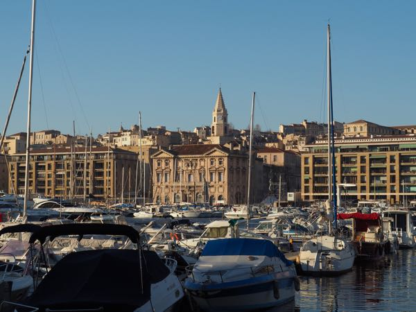 Route from Paris to Marseille: Marseille Harbour