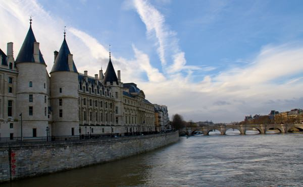 Off-Season: The Seine River in Paris in December.