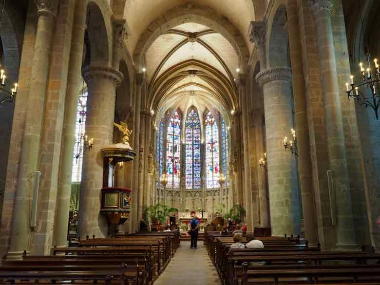 Choir in Basilica of Saint-Nazaire and Saint-Celse, Carcassonne (J. Chung)