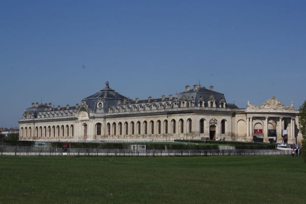 Leisurely drives through France and seeing the Racecourse Stables at Chateau de Chantilly