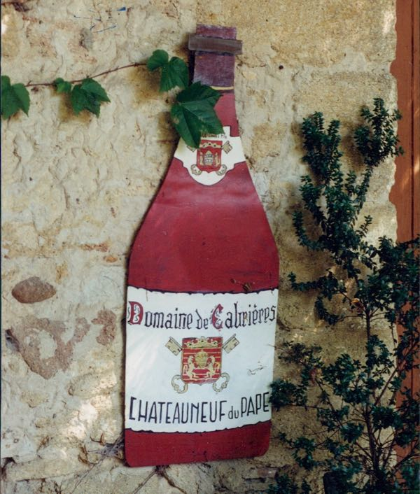 One Sip At A Time Chateauneuf du Pape