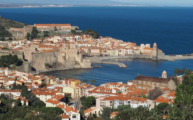 Stopover in Collioure: Harbour