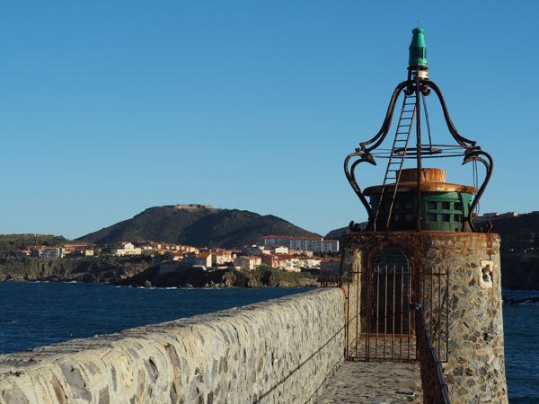 Stopover in Collioure: lighthouse