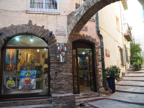 Stopover in Collioure: shop
