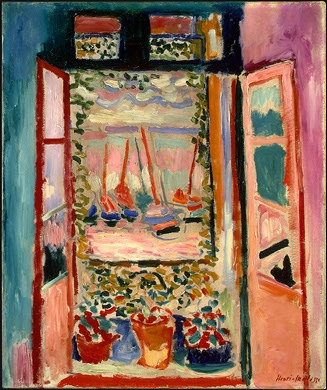 Stopover in Collioure: Open Window by Henri Matisse