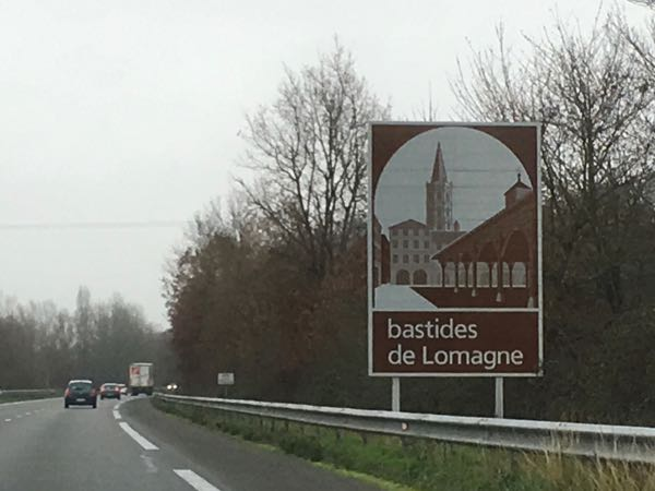 Leisurely drives through France: road signs