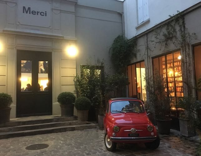 Concept Stores With Trendy Finds: Colette And Merci -