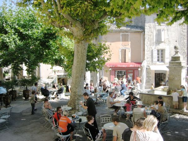Mindfulness in Gordes, France